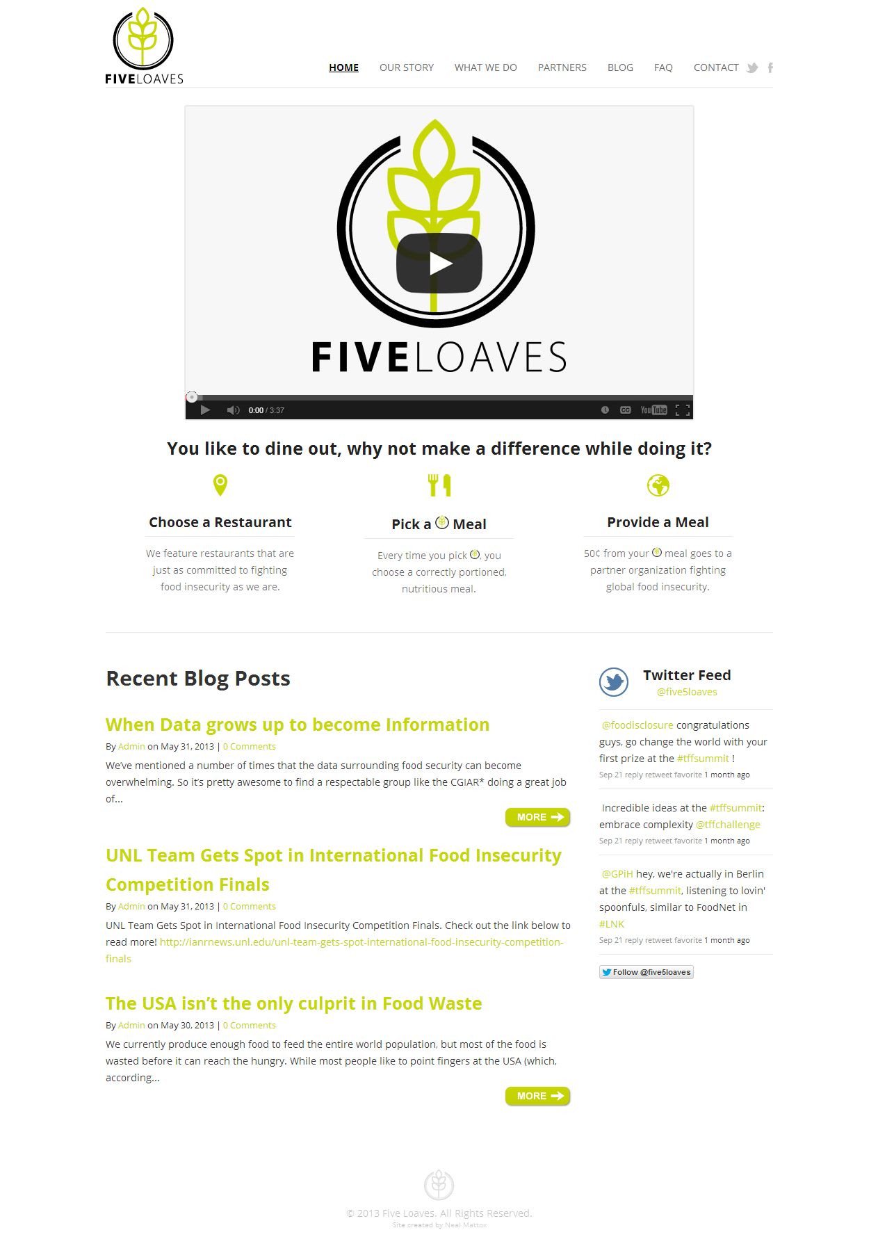 Five Loaves - Partnering with our community for a food secure future