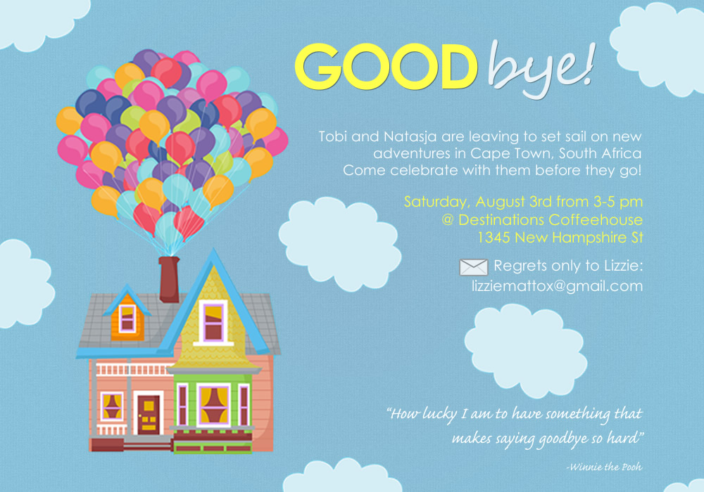 Goodbye Party Invitation was very inspiring ideas you may choose for invitation ideas
