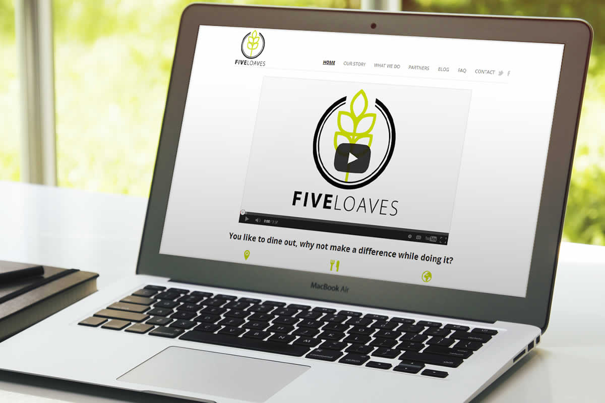 Five Loaves web design
